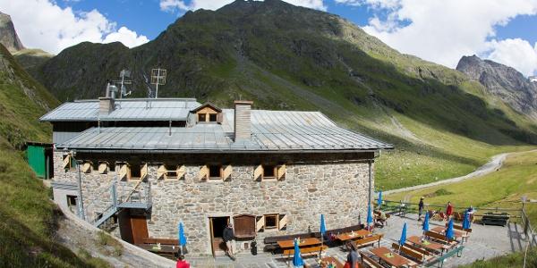 Amberger Hütte - Sommer
