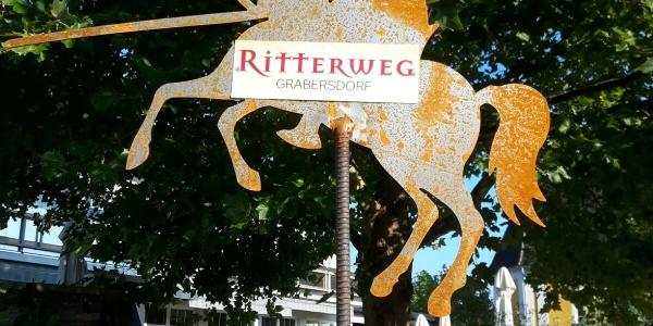 Ritterweg in Grabersdorf