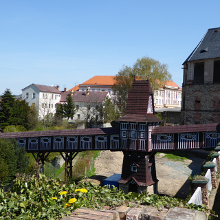 Holzbrücke Zámek Nové Město