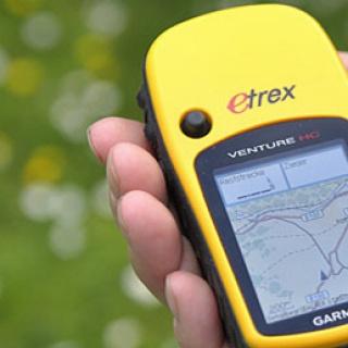 GPS-Rallye in Aktion