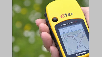 GPS-Rallye in Aktion