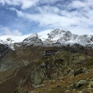 Zufallspitzen über Rifugio Larcher (Cevedale)
