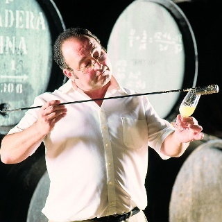 Venenciador is one of the most traditional professions in the Jerez region