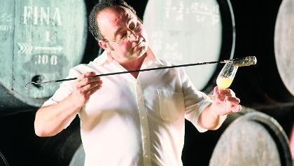 Der Venenciador ist einer der traditionsreichsten Berufe in der Region Jerez.