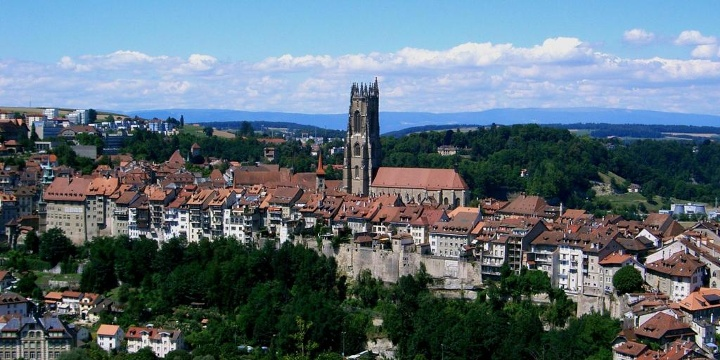 Cycling in Fribourg the best bike routes