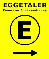 Wegezeichen Eggetaler Panorama Rundwanderweg