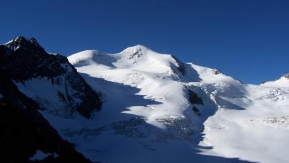 Blick vom Mittelbergjoch Richtung Wildspitze