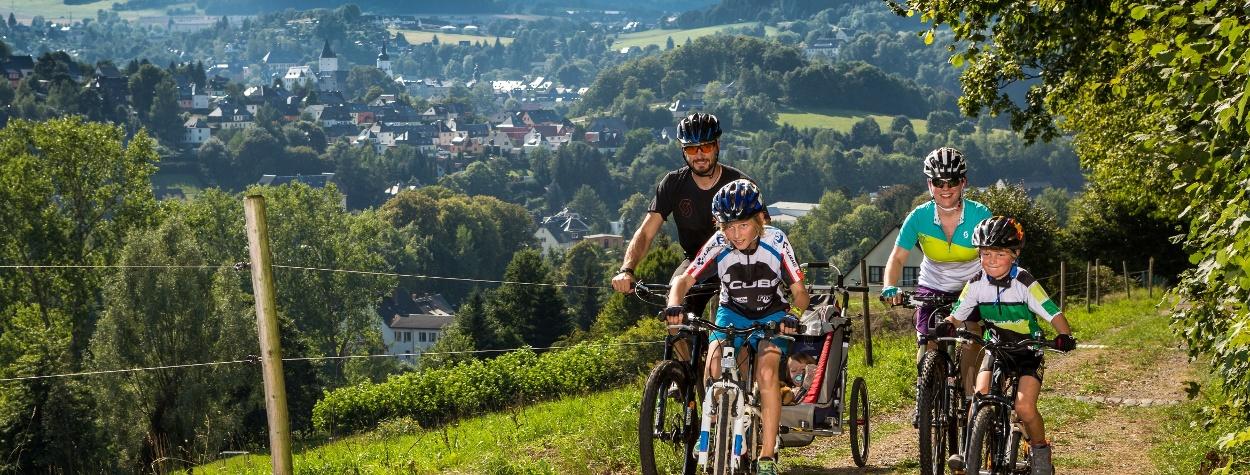 Familientouren im Erzgebirge