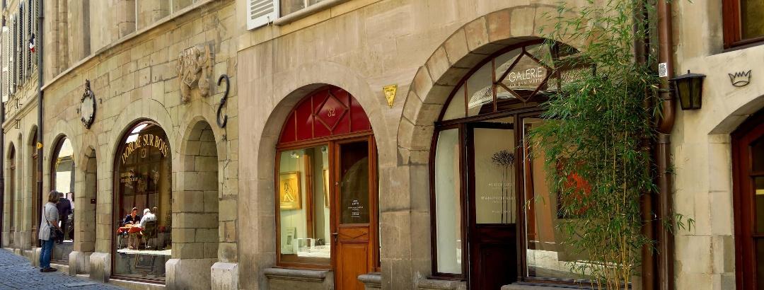 In der Altstadt von Genf.