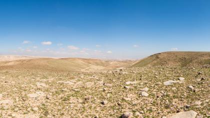 Panoramablick über das Tal von Kana'im