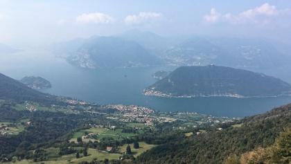 Lago d'Iseo mit Sulzano