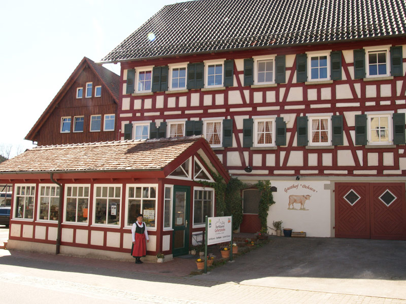 Gasthof Ochsen   - © Quelle: Bäuerliche Erzeugergemeinschaft Schwäbisch Hall