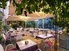 Biergarten auf der historischen Stadtmauer   - © Quelle: ASIA China-Restaurant