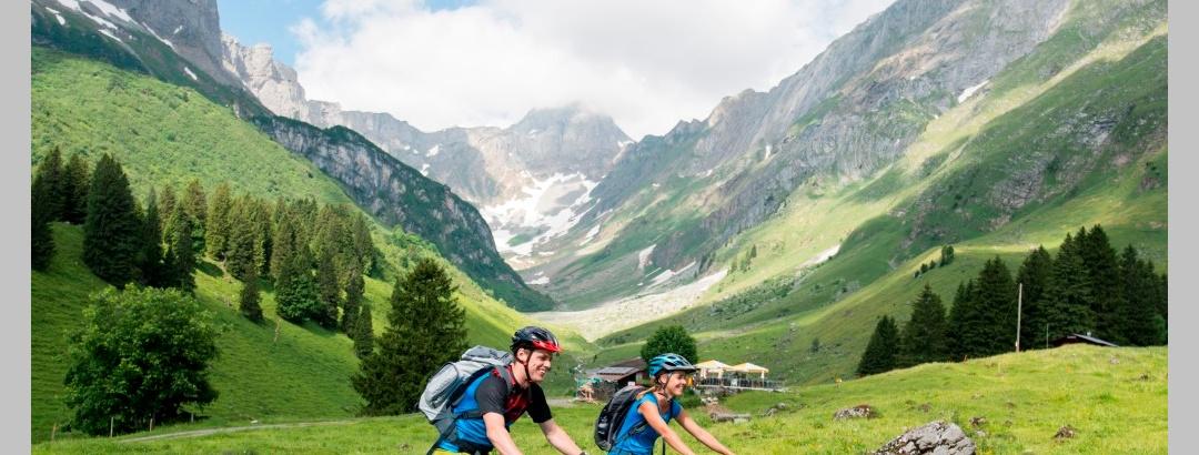 E-Mountainbiketour im Glarnerland