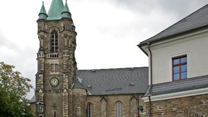 Mining landscape Buchholz - St. Katharinen church