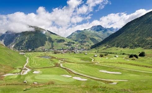 Golfplatz Andermatt