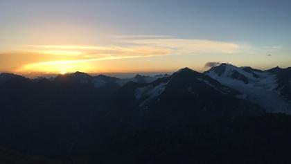 Sonnenaufgang am Saykogel