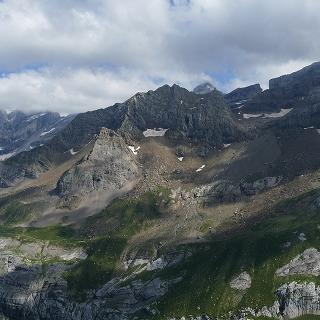 Panorama dal Pic des Tentes (2322 m)
