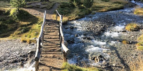 Brücke über den Lagaunbach