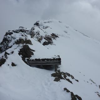 Alte österreichische Stellung am Col di Lana