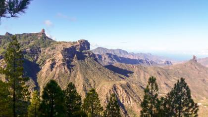 Die markanten Basaltfelsen von Gran Canaria