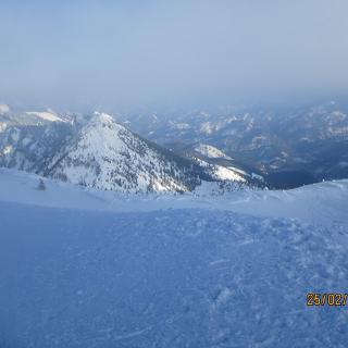 Gipfelhang Richtung Steyrerhütte