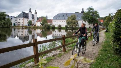 Route rund um Ronneburg