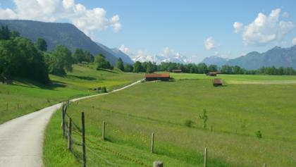 Cycling routes Murnau