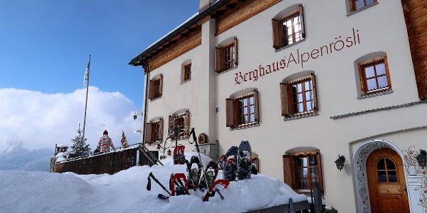 Berghaus Alpenrösli.
