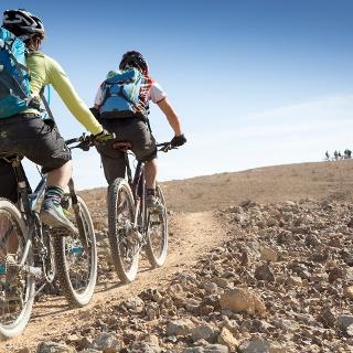 Auf dem Israel Bike Trail von Be'erot zur Festung Moa