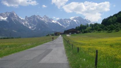 Radweg Saalachtal