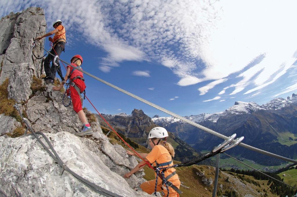 Klettersteig Rigidalstock : Die schönsten klettersteige in obwalden