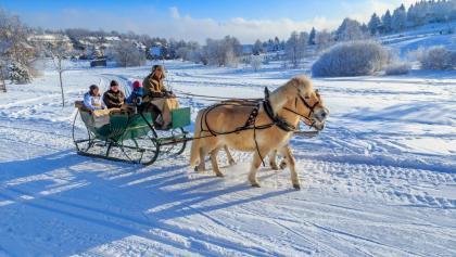 Romantik und Genuss im Schnee