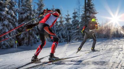 Sportlich und aktiv im Schnee
