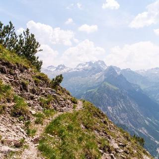 Grandioses Panorama am Hochschereweg