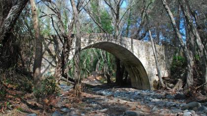 Die venezianische Roudia Brücke