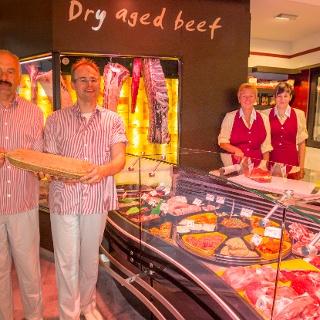 Laden der Fleischerei Schaarschmidt