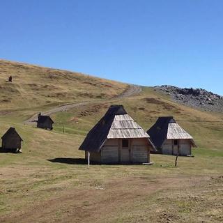 Mountain hut Vranjak