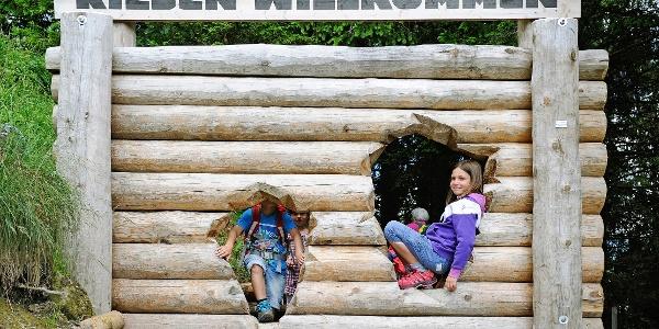 Eingang Riesenwald