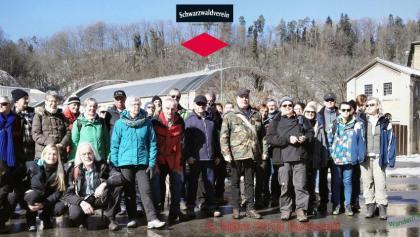 Gruppenbild am Start