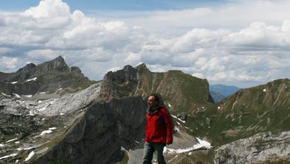 Blick Richtung Roßkopf und Hochiss