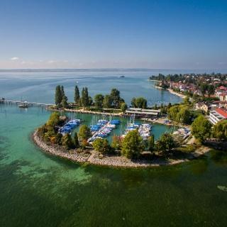 Immenstaad Landesteg und Yachthafen