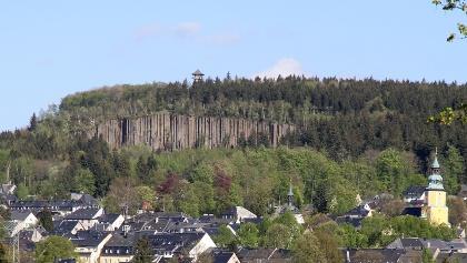 Blick auf den Scheibenberg