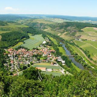 Blick vom Lemberg auf Oberhausen / Nahe
