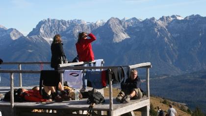 Blick Richtung Karwendel