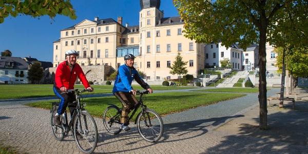 Unteres Schloss Greiz mit Museum und Touristinformation