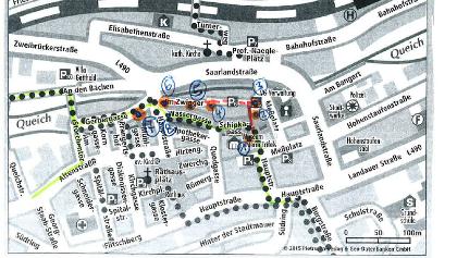 Umleitung Queichtal-Radweg Annweiler
