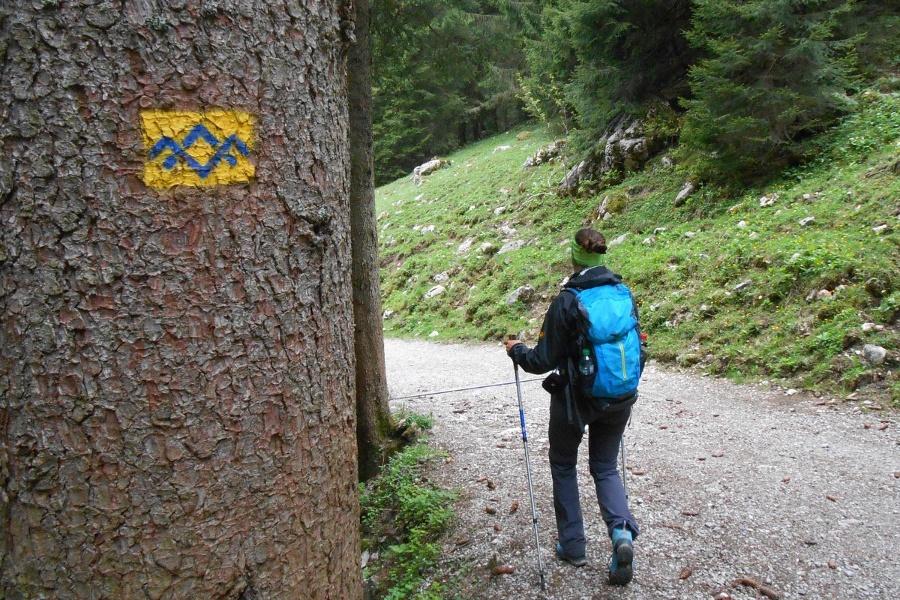 Wandern von Frasdorf aus - Auf die Riesenhütte