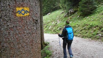 Auf dem Weg zur Riesenhütte führt auch eine SalzAlpenTour