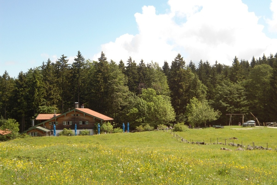 Mit dem Kinderwagen zur Frasdorfer Hütte oder Hofalm